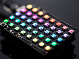 adafruit neopixel shield for arduino 40 rgb led pixel matrix id