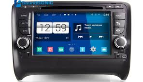 android in dash for audi tt android 4 4 4 s160 automotivo in dash car pc auto