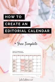 social media editorial calendar template how to create