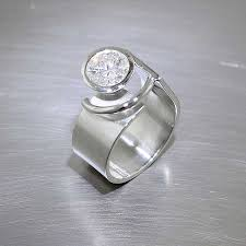 Non Traditional Wedding Rings by Non Traditional Engagement Rings U2014 Jewelsmith Innovative Hand