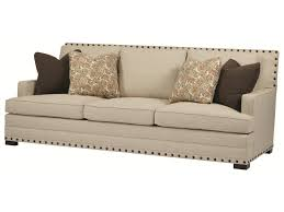 Low Height Sofa Bernhardt Cantor Sofa With Nail Head Trim And Low Set Arms Old