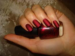 matte red nails wowee sweet beauty pinterest opi silk and