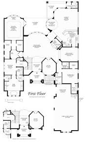 jupiter country club the signature collection the villa milano 1st floor floor plan