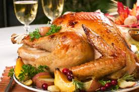 usa roast stuffed turkey thanksgiving day