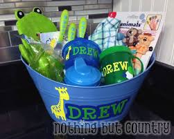 baby shower gift baskets boy baby shower gift basket nothing but country