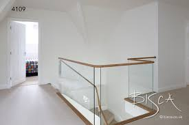 Glass Banisters Cost Bespoke Glass Balustrade Designs Bisca Staircases