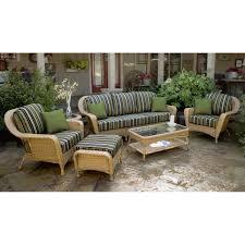 Jaavan Patio Furniture by Tortuga Outdoor Lex 65 Lexington 6 Piece Deep Seating Conversation