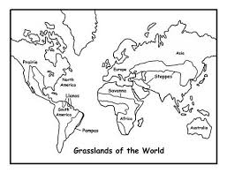Biome Map Coloring Biome Coloring Pages Printable Free Biomes Map Desert Stock