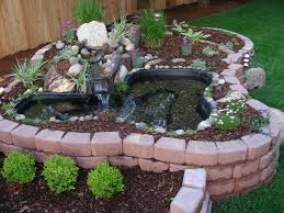 Small Backyard Ponds And Waterfalls by Very Small Garden Pond Garden Pinterest Small Garden Ponds
