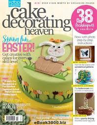 Cake Decorating Heaven March April 2017 Free PDF Magazine Download