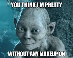 No Makeup Meme - makeup no filter meme