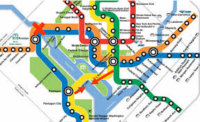 Smithsonian Map Could A Subtle Tweak To Metro U0027s Map Fix Overcrowding On The Blue