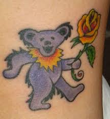 grateful dead tattoos gd tattoo 53 janis the dancing bear