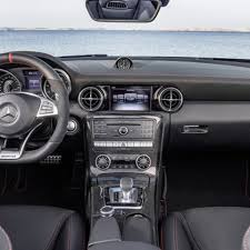 mercedes dashboard 2017 mercedes benz slc class 6 things to know