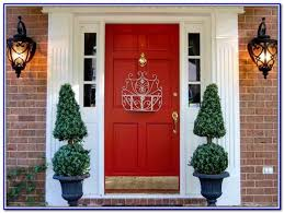 best front door red paint color painting home design ideas