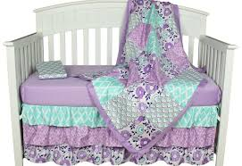 cribs purple crib bedding exceptional dark purple crib bedding