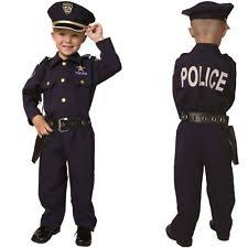 Halloween Police Costume Police Officer Uniform Ebay