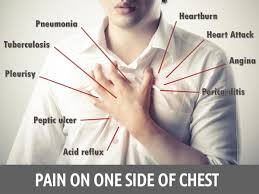 reasons for on one side of chest boldsky com