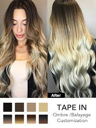 what is hair extension ombre balayage in hair extensions tpo001