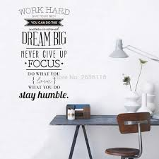 compare prices on walls work online shopping buy low price walls large inspirational quotes wall decals work hard dream vinyl wall art stickers for home office decor