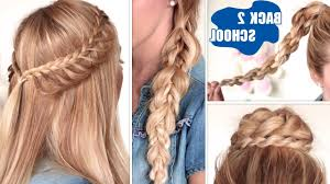 cute hairstyles with braids for medium hair 3 cutest braided