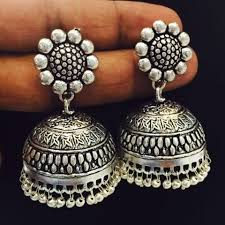 Buy Tribal German Silver Jhumka Images Tagged With Tribalcollections On Instagram