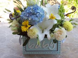baby shower flower centerpieces ideas