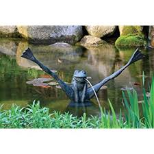 Aquascape Store Amazon Com Aquascape Frog Fountain Spitter For Pond Landscape