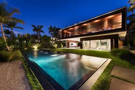 home with pool a luxury miami beach home with pools natural lagoons and a