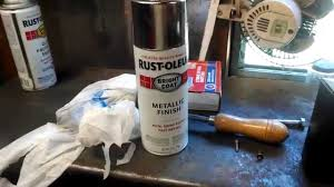 restoleum chrome spray paint review youtube