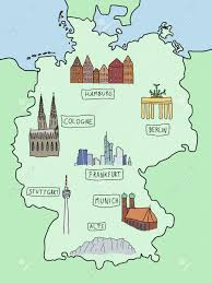 Germany On A World Map by 11 525 Germany Map Stock Vector Illustration And Royalty Free