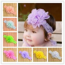 bando headbands baby accessories fashion floral baby girl lace headbands 16color