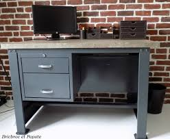bureau a peindre bureau d atelier en métal etape 4 transformation chambre en bureau