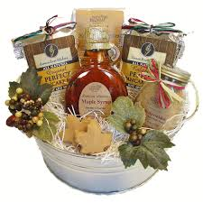 wisconsin gift baskets maple syrup gift baskets northern harvest gift baskets