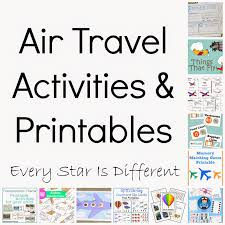 every star is different transportation activities u0026 free printables
