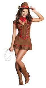 Western Halloween Costumes Cowboys U0026 Cowgirls Attires Size Em Cowgirl Costume