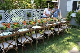garden party table seating ideas 15 cool garden party ideas
