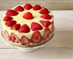 aux fraises cuisine recette gâteau d anniversaire aux fraises