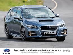 subaru dark blue subaru levorg sports tourer uk price tag set at 27 495 goes on