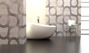 Innovative Bedroom Decor Ideas With Ceramic Wall And Floor by Modern Tile Designs Blending Concrete With Metal Innovative