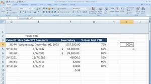 format date in excel 2007 how to use percentage formatting in excel 2007 excel 07 011 youtube