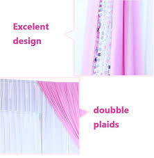 wedding backdrop accessories event and party top pink and white wedding items drapery