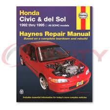 haynes honda civic 92 95 repair manual 42024 shop service garage