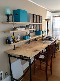 Diy Pipe Desk by Black Pipe Work Bench For My Studio Designed And Built By Me Rlk