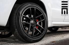 jeep cherokee black 2015 jeep cherokee srt8 on velgen wheels vmb5 satin black finish