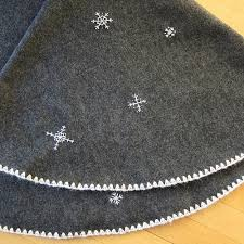 just crafty enough project snowflake tree skirt