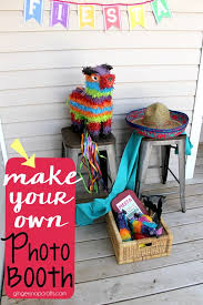 how to make your own photo booth best 25 photo booth ideas on mexican