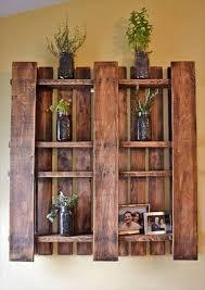 Wooden Bedside Bookcase Shelving Display Recycled Hand Made Pallet Shelves U2014 Crafthubs U2026 Pinteres U2026
