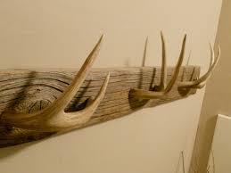 Christmas Decorations Using Deer Antlers by Antler Towel Rack