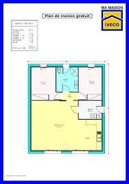 plan de maison plain pied 2 chambres plan maison plain pied gratuit plans de maisons individuelles 80m2 2